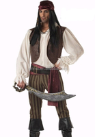 Most popular with our customers adult halloween pirate costume for man BMG12961