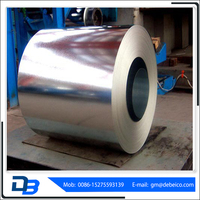 zinc hot dipped galvanized steel coil from tianjin china
