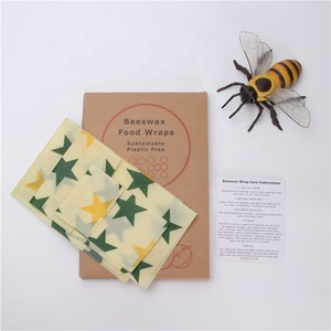 New Products Sustainable Food Storage Beeswax Food Wraps