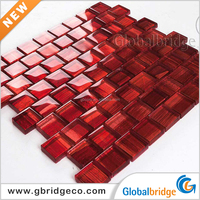 China Foshan Mosaic factory, Foil Glass Mosaic 3d Crystal Glass Mosaic Tile For Decor 8CFC905