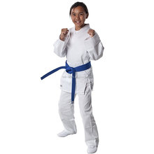 Lightweight Traditional White Student Karate Uniform
