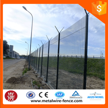 High quality anti climb mesh fencing, cheap fence material, welded 358 wire mesh fence