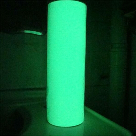 Photoluminescent Vinyl Glow in the dark vinyl film fluorescent vinyl rolls