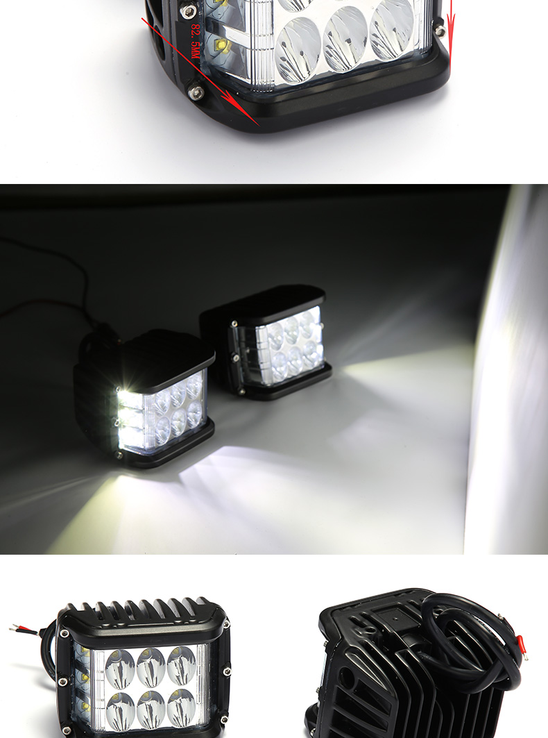HANTU low MOQ led work light led work light china supplier factory movable led work light