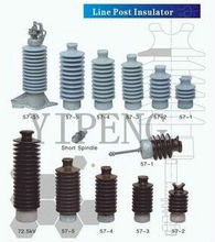 Line Post Insulators For High Voltage/Porcelain Insulator 57-1 57-2 57-3 57-4 57-5