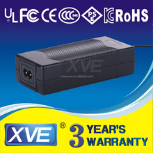 XVE wholesale UL GS PSE FCC approved 13S 54.6V 2A Lithium ion Battery Charger for hoverboard scooter 48v li-ion battery
