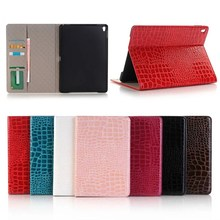 tablet cases for ipad pro 9.7,pu leather crocodile case for ipad pro smart cover with stand