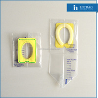 Medical disposable paediatric urine collection bag for 200ml