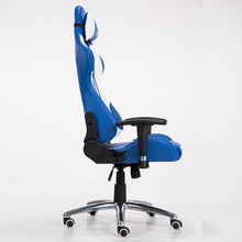 Hot Sell any angle lock blue classic style office desk chairs with SGS certificate