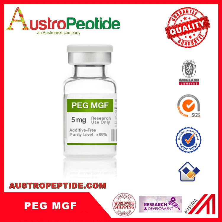 PEG MGF peptide lab use high purity 2mg 5mg