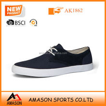 2014 newest top selling men custom casual shoes in China high quality rubber sole canvas shoes