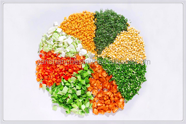 2015 popular high quality Dehydrated/evaporated vegetables