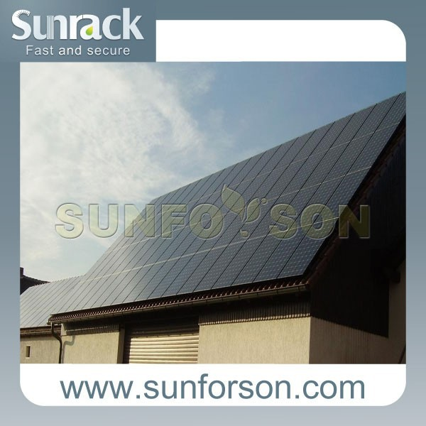 solar panel mounting aluminum rail