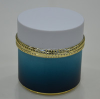 2014 New Design Plastic Cosmetic Packaging,Round Face Cream Container