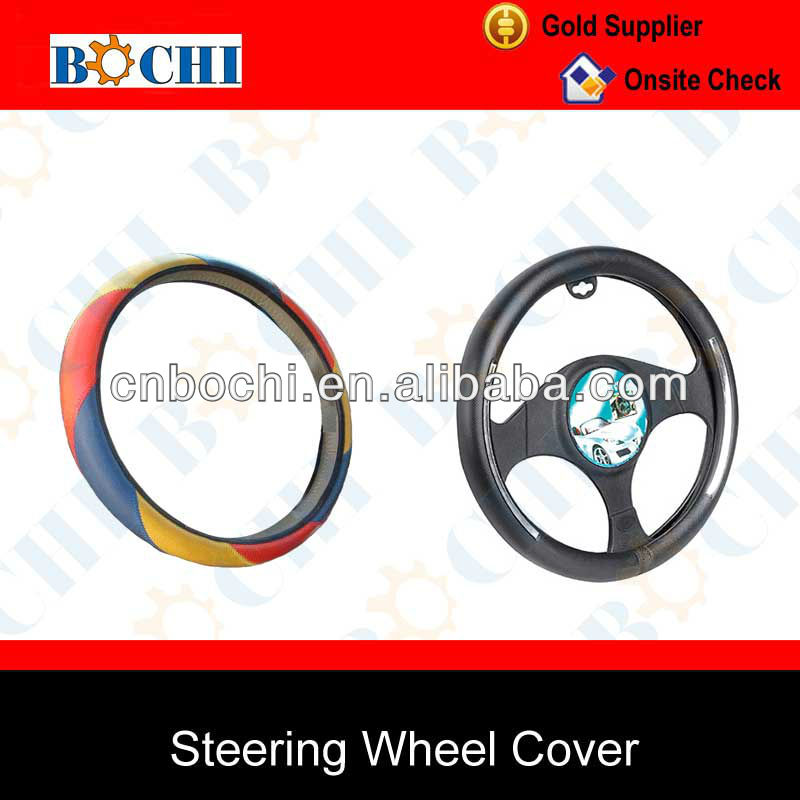 Wholesale hotsale of car diamond car steering wheel cover