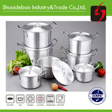 Chinese Hot Sales aluminum 7pc cookware set