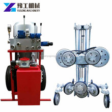 diamond granite bridge sawing stone cutting machine hand wire saw machine