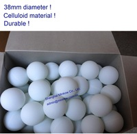 High quality 38mm table tennis ball (ping pong ball, bingo ball )