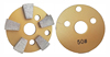 Metal Bond Diamond Grinding Disc concrete floor polishing disc