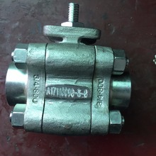 A105N Side Entry 3pc Split Body Floating 1 inch threaded ball valve