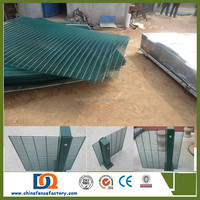 High Density 358 anti climb prison fence with square post