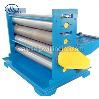 Popular automatic customized checkered metal plate embossing machine manufacturer