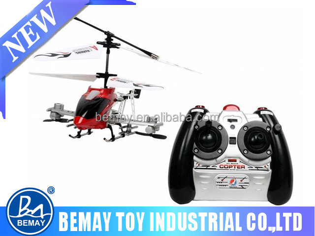 Built-in gyro helicopter parts 4 channel rc helicopter toy for sale