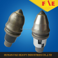 C7 round shank cutters auger bits for foundation piling, piling drill bit