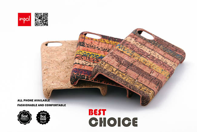 Catalogue New product hand made real cork phone case for iphone 4 accessories