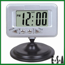 2015 Innovative LCD talking table clock,Best price LCD Display Digital Talking Alarm Clock,Top selling LCD Talking Clock G20C110