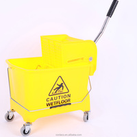 small trolley cleaning tools with wringer
