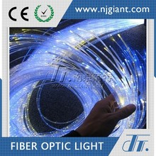 Dot End Glow Side Emitting 0.25mm Plastic Optical Fiber For Lighting