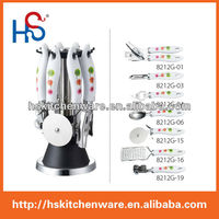 All sorts of color kitchen utensils product suits HS8212G