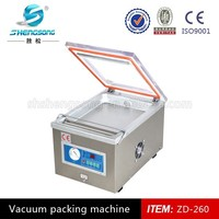 DZ-260 vacuum packing machine for Clothes ,Food (CE ISO9001 BV)