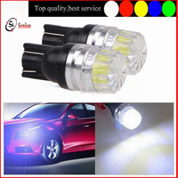 2015 new type Car Auto LED white T10 5630 SMD W5W 12v 194 168 car plate wedge width indicator light professional manufacturer