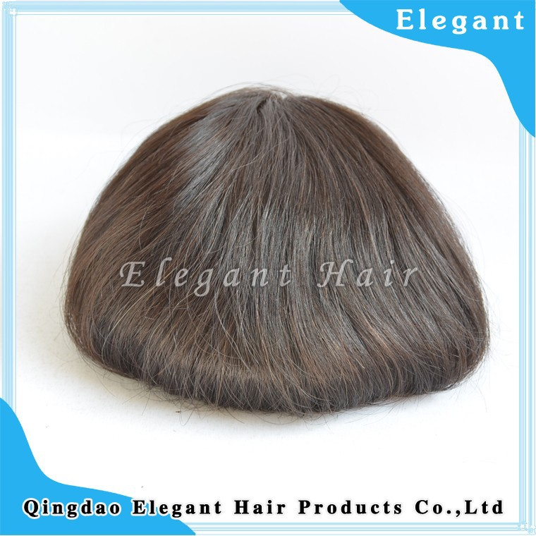 top quality 100% human hair toupee,hair systems for men,Stock natural type super thin skin hair system