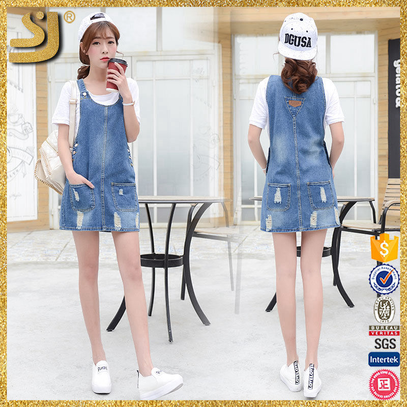 Factory Price Latest Blue Denim Jeans For Girls