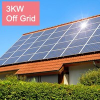 Product Photovoltaic PV solar panel/solar module 3kw for home usage