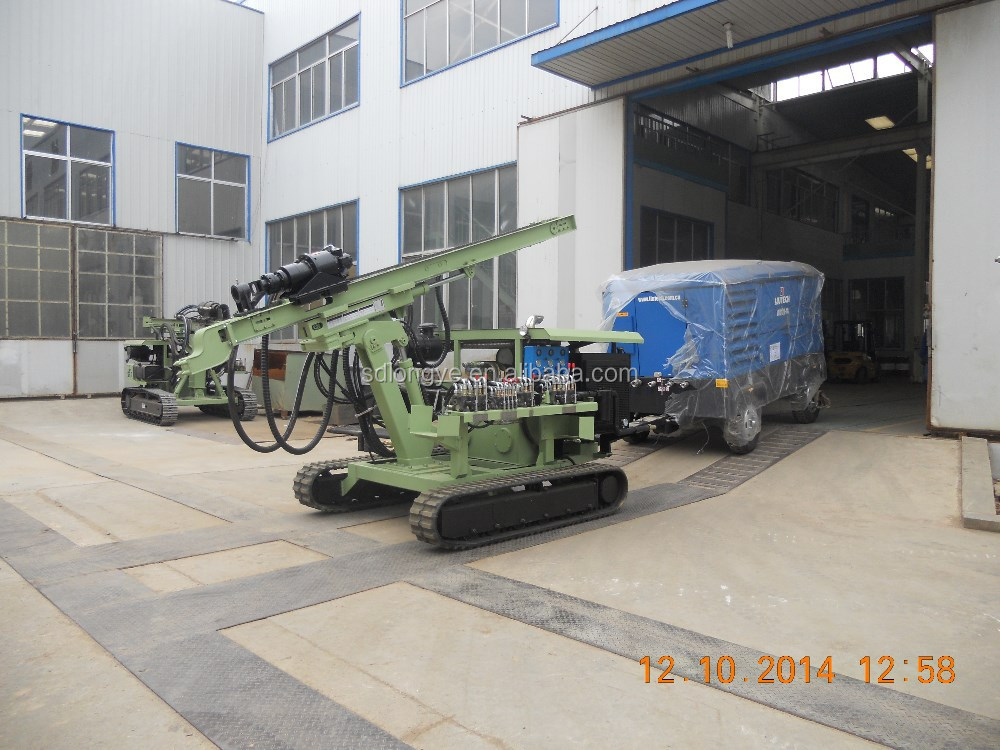 best seller hydraulic bore hole DTH exploration rock blasting drilling machine