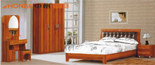 Modern style simple funky adult bedroom furniture with MDF board and painting JK-9120