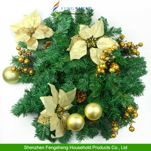 christmas wreath decoration christmas garland Holiday swag decoration Artificial