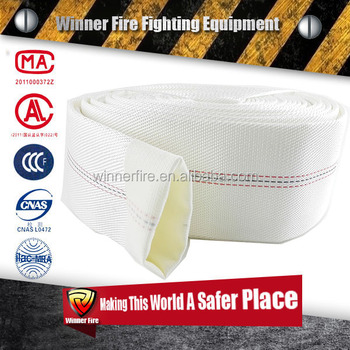 PVC/PU/Rubber/EPDM line strong polyester high working pressure Asian type Fire Hydrant Hose