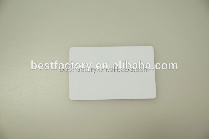 HOT SALE cr80 custom printable plastic pvc blank gift card