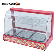 Countertop Hot Food Showcase Electric Food Warmer Cabinet