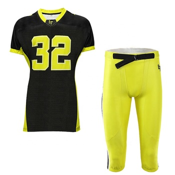 Designer your own logo youth american football practice jersey wear sublimation