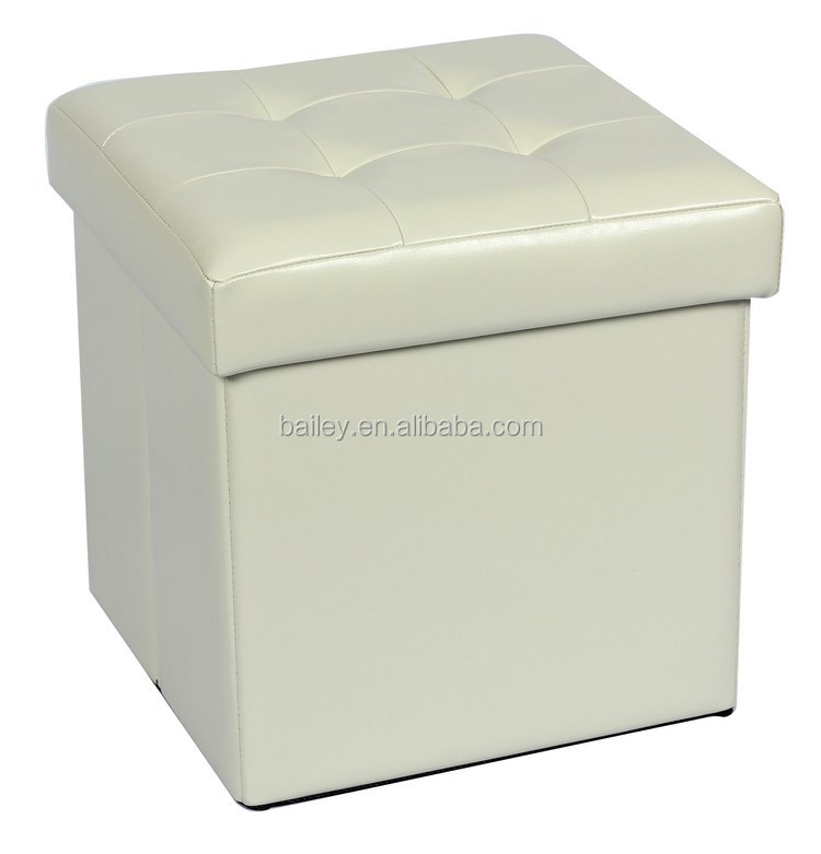 home furniture decoration folding ottoman storage bench