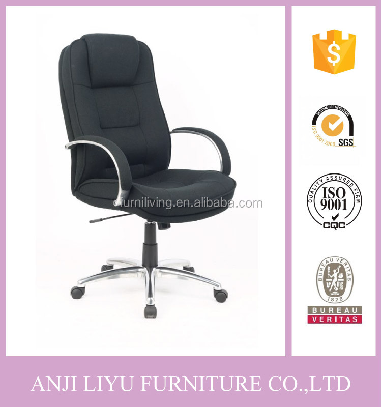 PU leather executive office chair with footrest Anji supplier for office chair