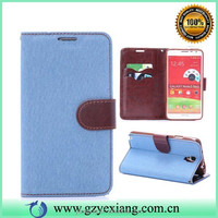 Hot Selling For Samsung Galaxy Note 3 NEO N750/N7505/N7506 Folio Leather Cover Case
