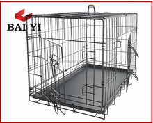 48'' two doors large dog cage
