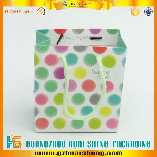 customized lime green paper bags with handles